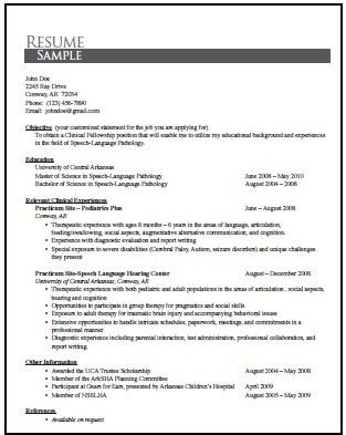 sample speech pathologist resume slp resume examples school slp  sample speech language pathology resume essay example of an essay