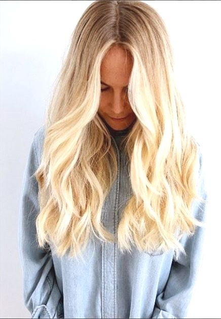 Beachy waves thanks to Hairburst [ BodyBeautifulLaserMedi-Spa.com ] #hair #spa #beauty #BlondeOmbre