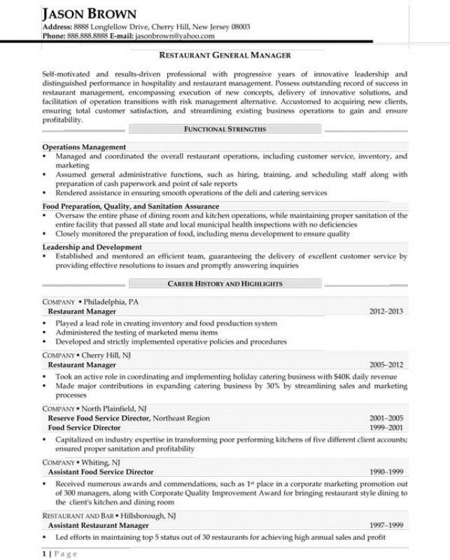 expeditor resume