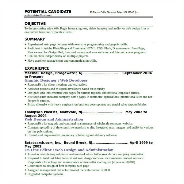 Video Resume Format Video Resumes Samples 12 Video Resume Samples - videography contract template