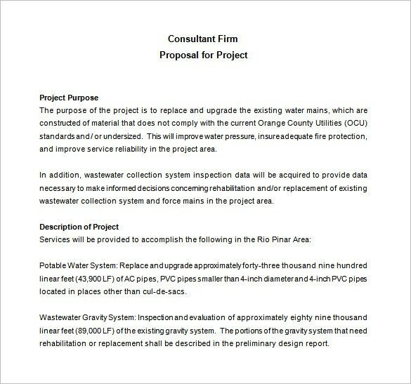 It Consulting Proposal Template Sample Consultant Proposal 5 - consultant quotation