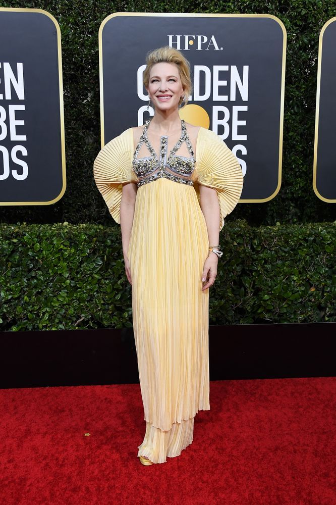 The Secrets Behind Cate Blanchett and Jodie Comer's Golden Globes Dresses