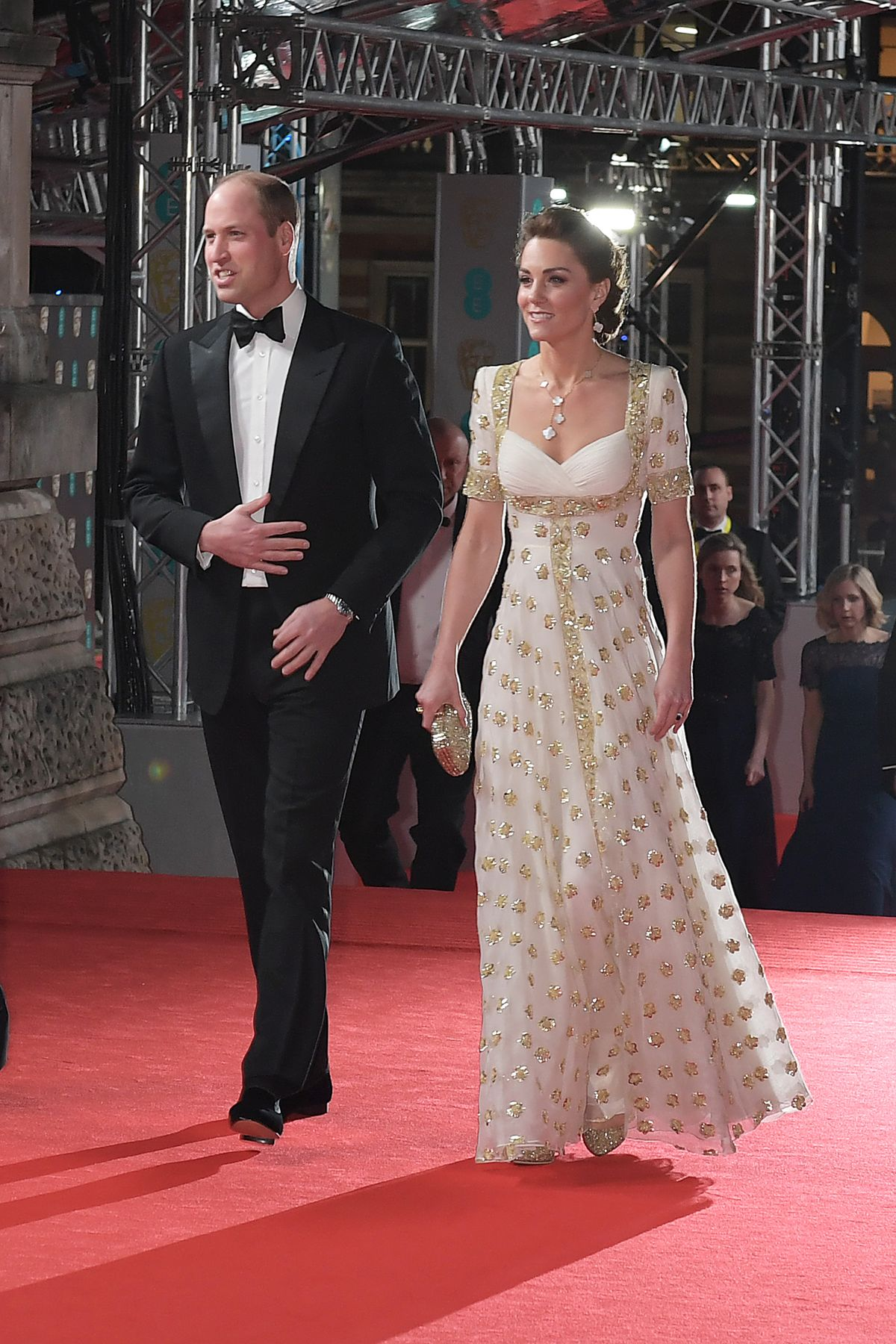 Kate Middleton Proves She's The Queen Of Outfit Recycling At The BAFTAs 2020