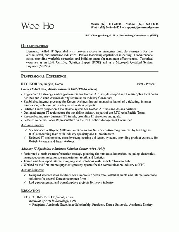 product specialist resume