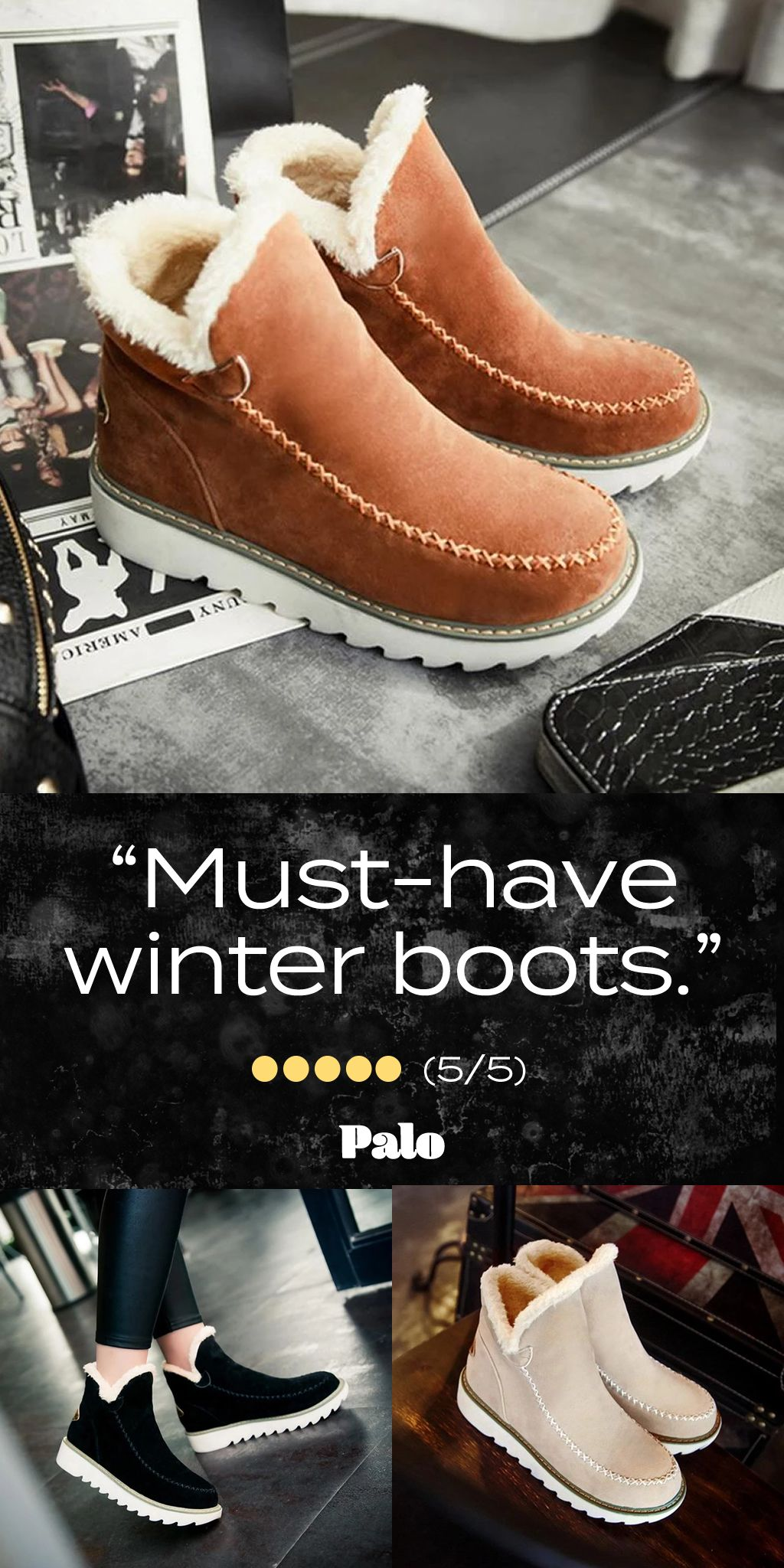 Must-Have Winter Boots - 50% Off Flash Sale