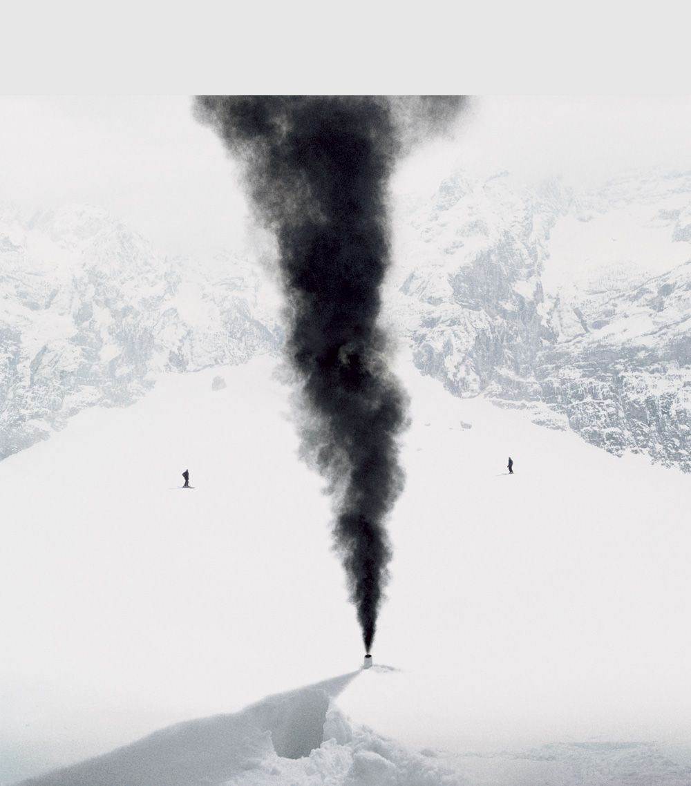 Andrea Galvani © 2007, The Intelligence of Evil #3 C-print mounted on aluminum dibond 110 x 110 cm // 43.3 x 43.3 inches Edition of 5 + 3 AP, Courtesy the artist
