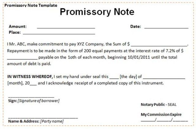 20 Elegant Agreement Letter to Borrow Money Pictures | Complete ...