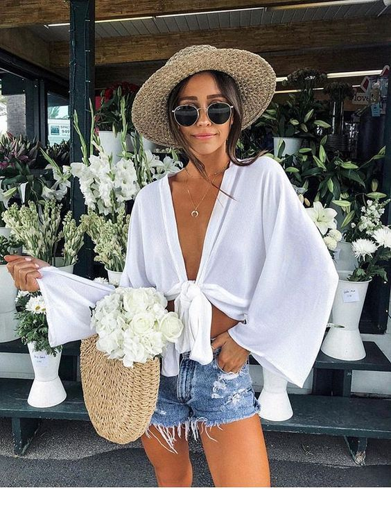 Summer classy outfit