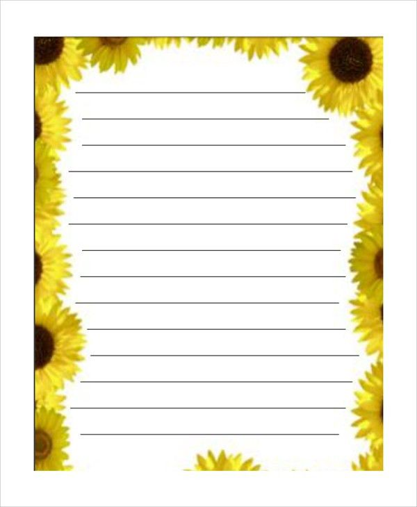 Lined Border Paper Printable Lined Paper With Borders Bing Images - lined paper pdf