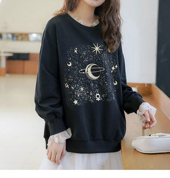 Sweet galaxy sweater
