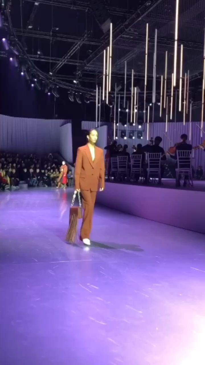 Boss's AW20 Catwalks Show At Milan Fashion Week