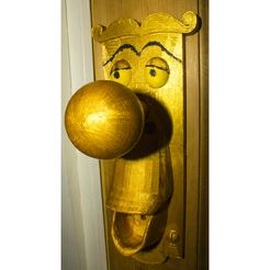 Alice in wonderland Doorhandle