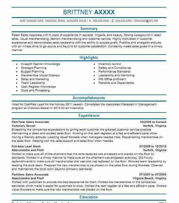 Store Associate Resume Unforgettable Sales Associate Resume - sample sales associate resume