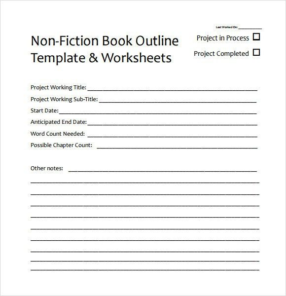 Novel Outline Template Chapter By Chapter Chapter Outline - book outline template