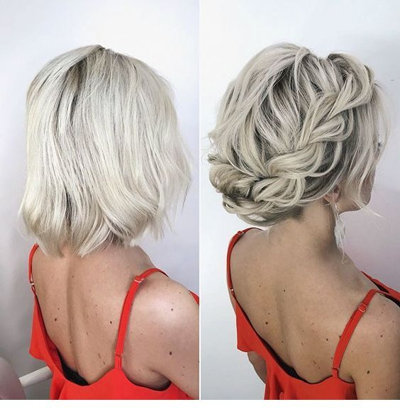 Very nice grey hair hairstyle