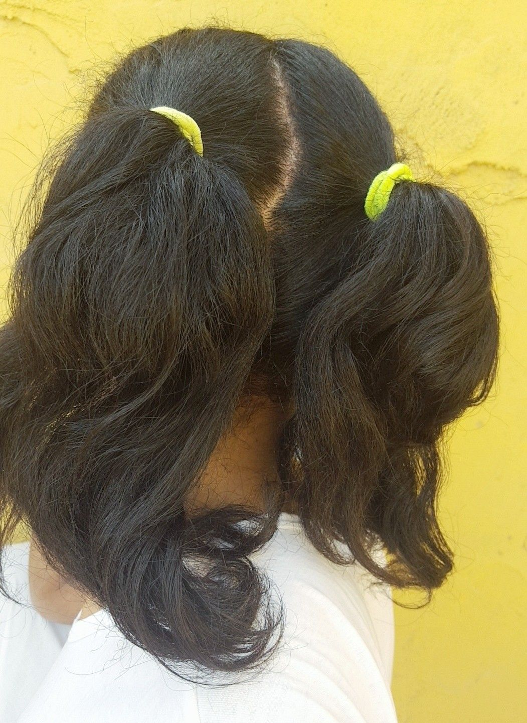 two ponytails hairstyle double ponytail twin ponytail