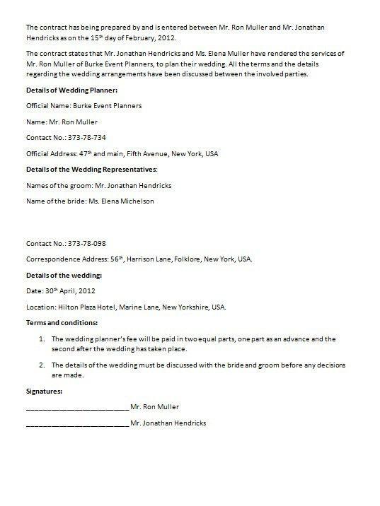 Export Contract Sample Export Contract Template Contract - marriage contract template