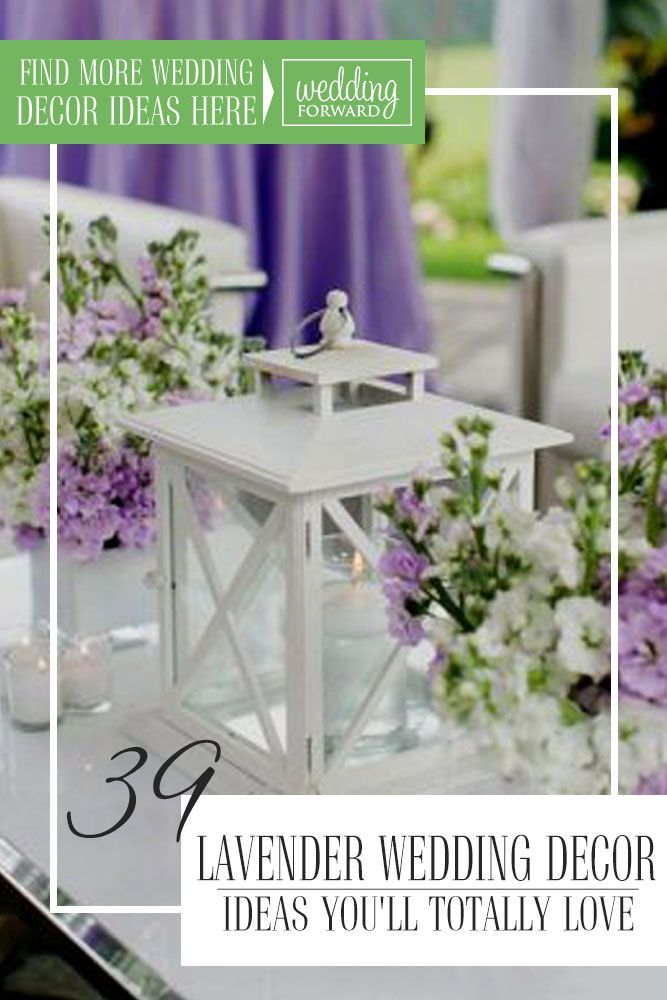 Lavender is a trending color, and there are so many wedding décor elements that can be styled in lavender shades! Consider our lavender wedding décor ideas to give your wedding style a delicate, tender look. Give it serenity and beauty, experiment with different lavender details, and develop your own wedding style. #weddingforward #wedding #bride #WeddingDecor