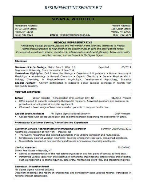 exercise psychologist sample resume node2004-resume-template - Callback Representative Resume
