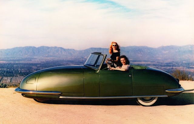 Davis Divan Three-Wheeler: The 1940s Unique Concept Car That Lost in History
