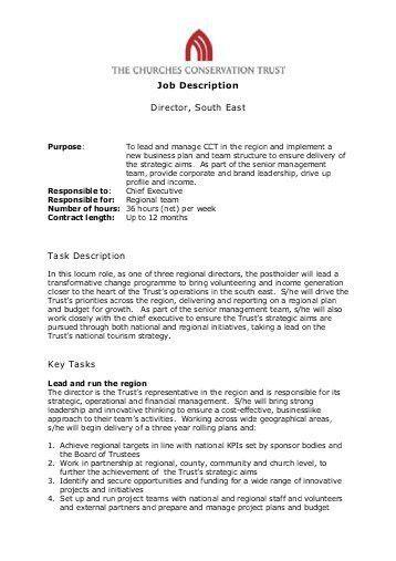 Cno Job Description Chief Nursing Officer Director Of Nursing Job  Description