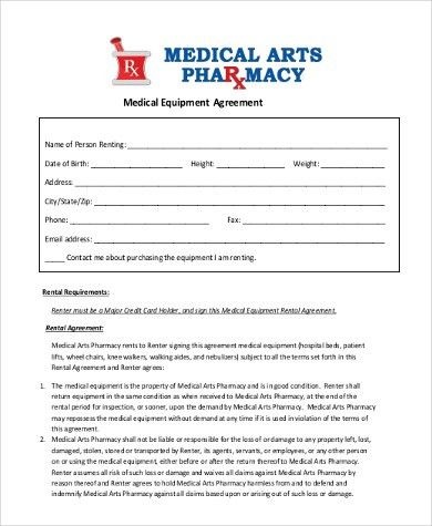 Product Rental Agreement Template