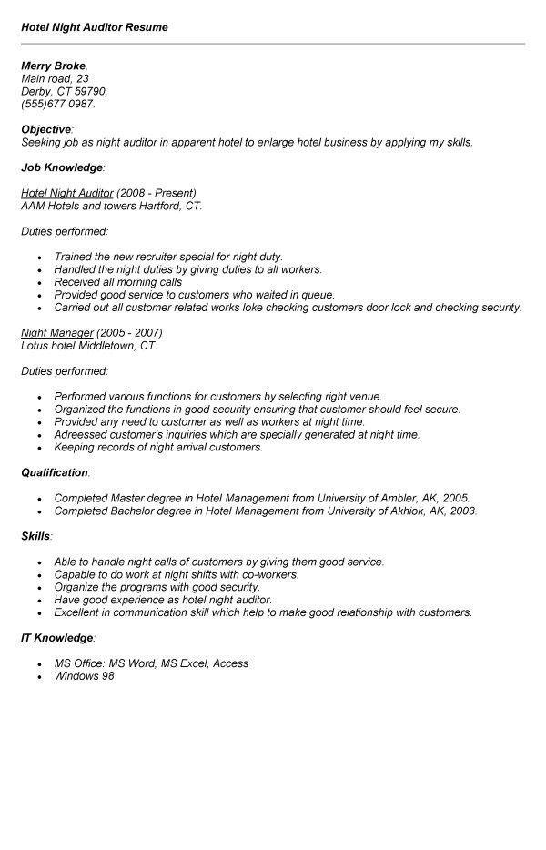 Pharmacy Auditor Sample Resume