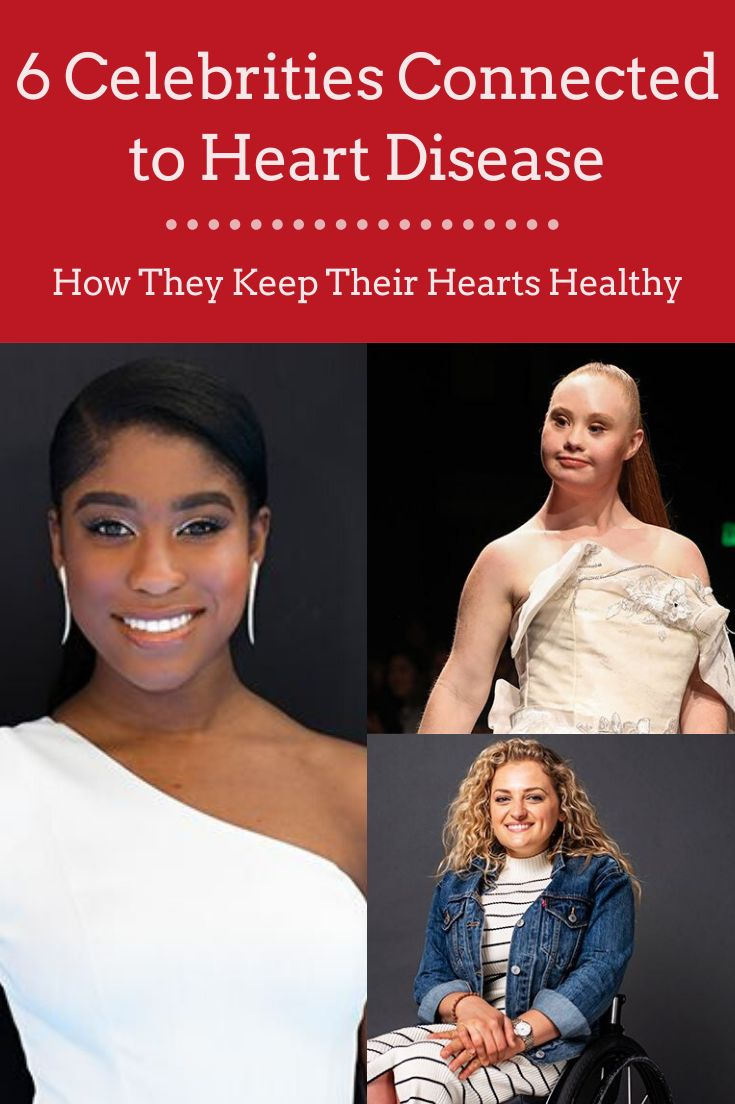 6 Celebrities Connected to Heart Disease | Everyday Health