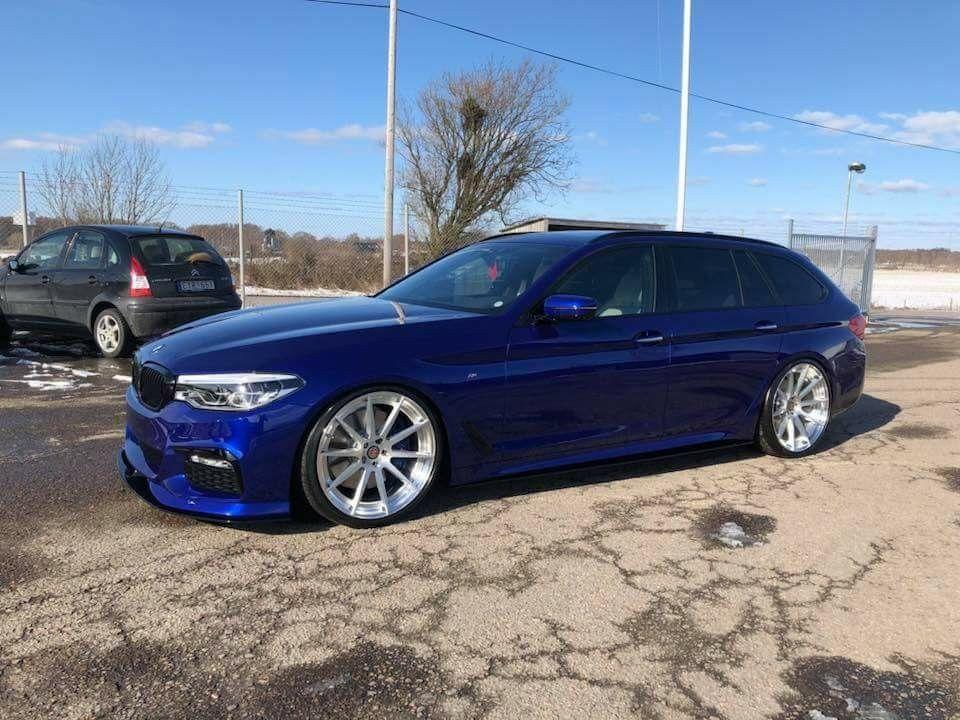 Bmw G31 5 Series Touring Blue Bmw Touring Bmw