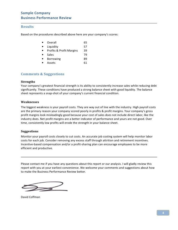 Sample Of Business Reports 17 Business Report Templates Free - sample company report