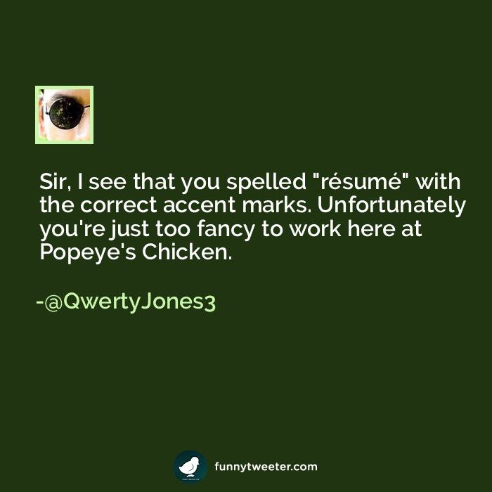does resume have an accent does resume have an accent does resume