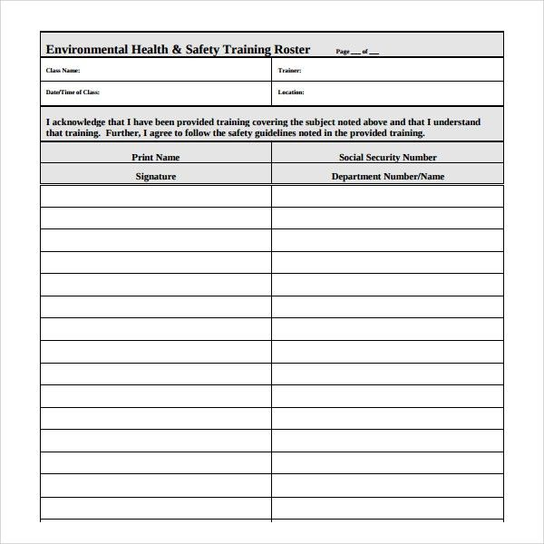 Pdp Templates Sample Personal Development Plan Template 6 Free - free roster templates