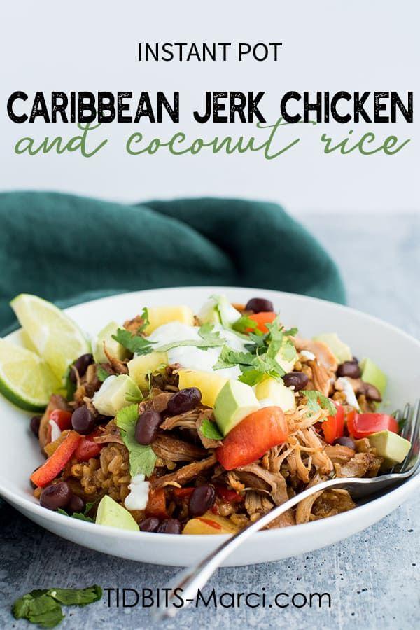 Instant Pot Caribbean Jerk Chicken