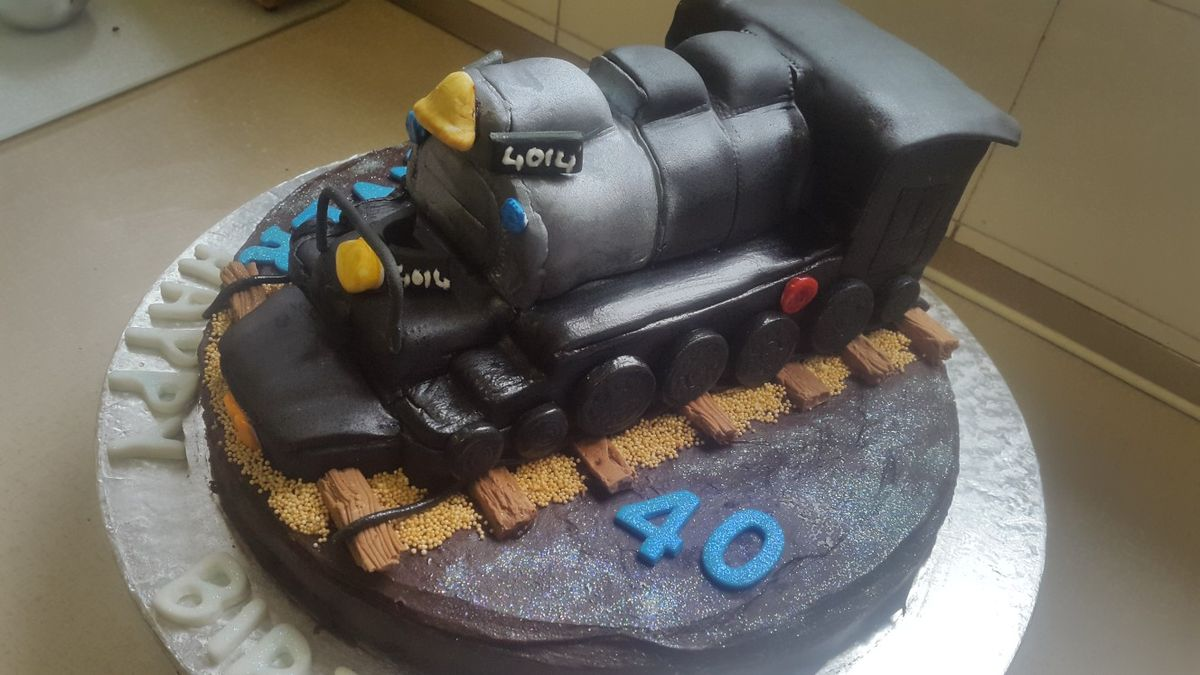 4014 birthday steam train cake train cake