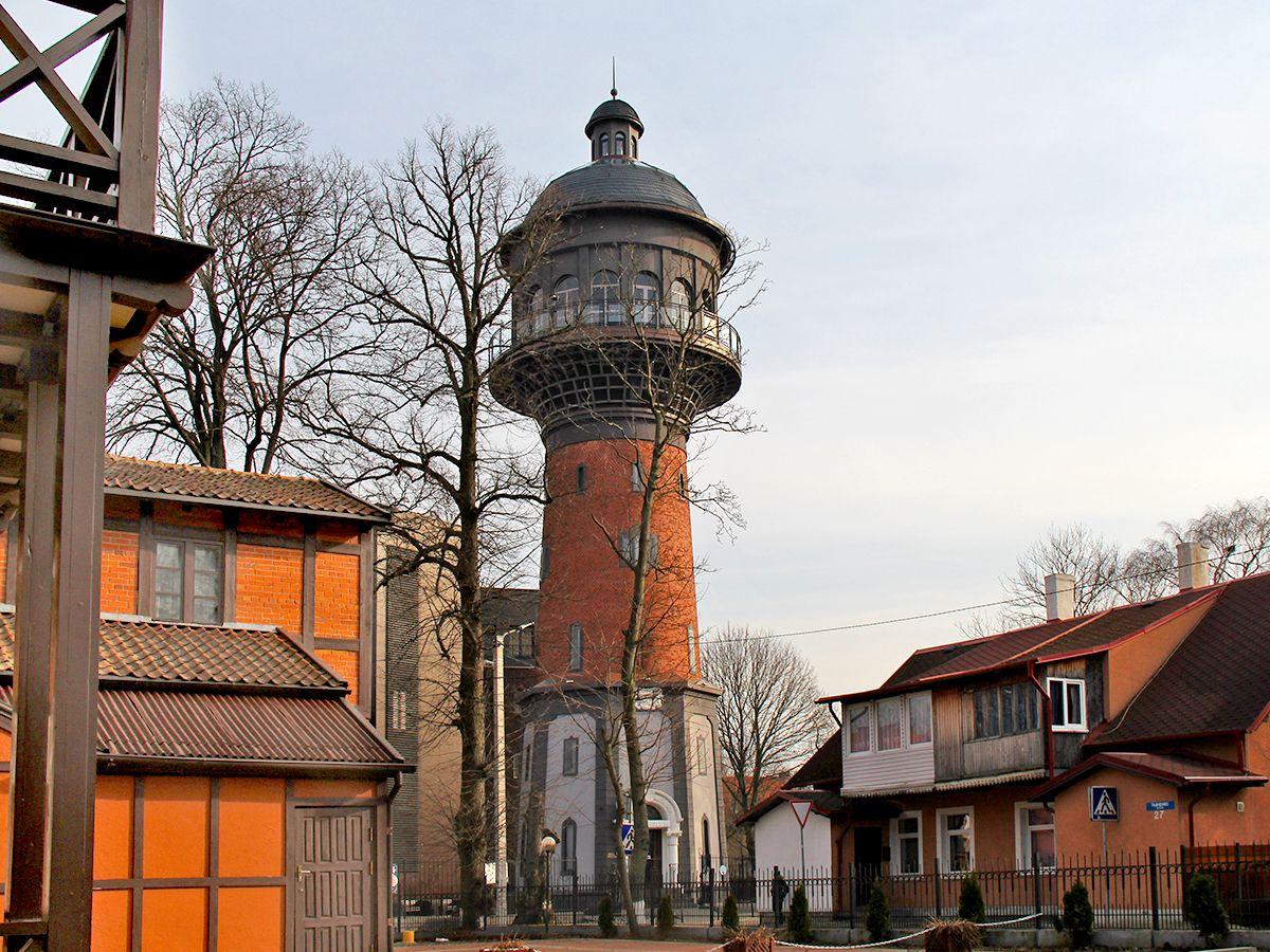 Вид на Водонапорную башню, Зеленоградск. Фото: Evgenia Shveda