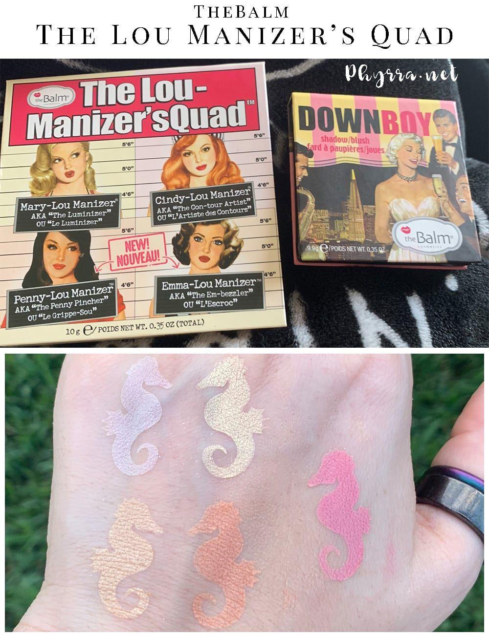 TheBalm The Lou Manizer's Quad