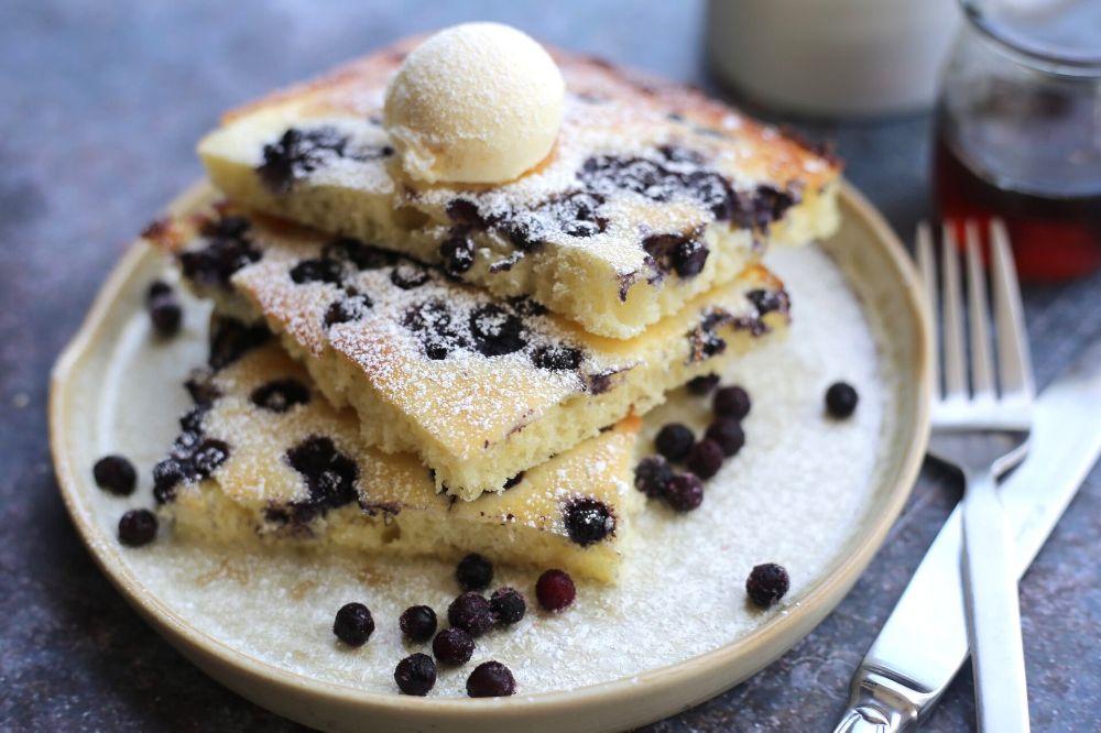 Oven-Baked Sheet Pan Pancakes — Alpana Singh