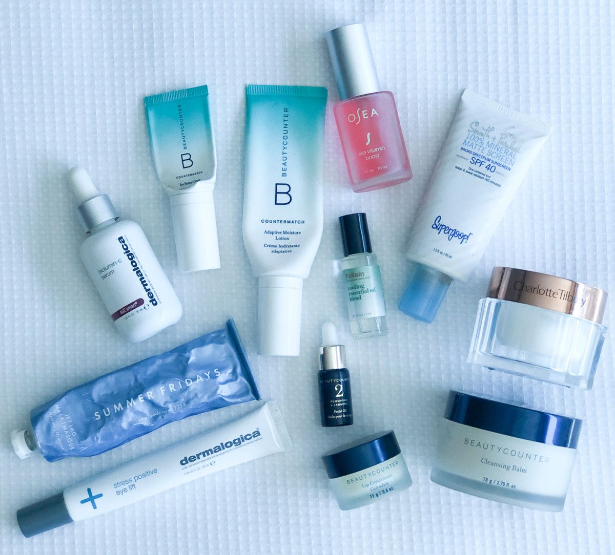 Cobalt Chronicles, Houston wellness blogger, is sharing all the details on her travel skincare and what she brought with her on a recent trip!