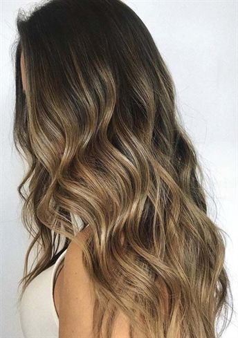 You may find here the most beautiful and stunning shades of brunette balayage hair colors for 2018. We have rounded up here the fantastic looks of balayage hair colors for 2018. #BalayageBrunette