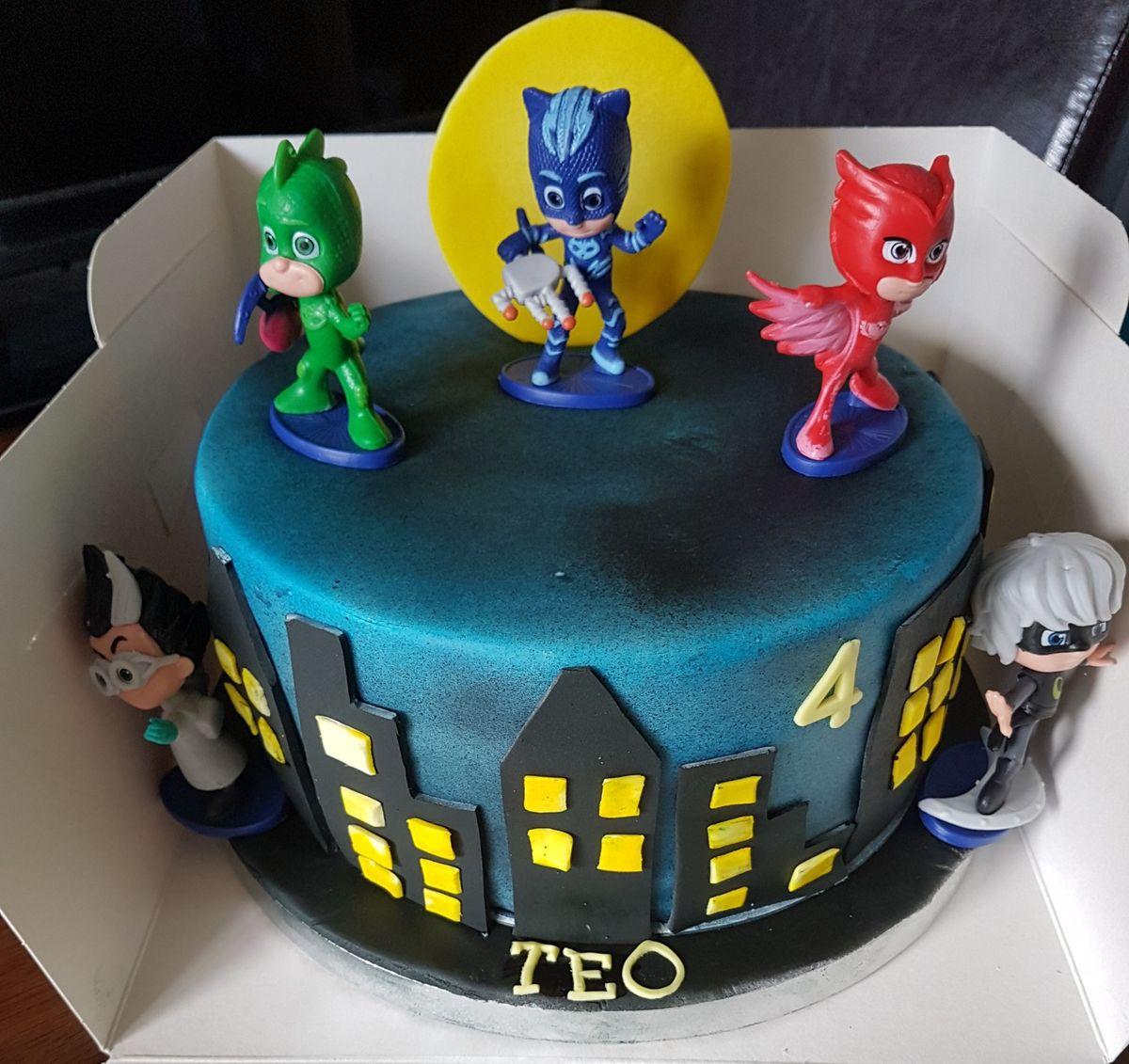 pj mask cake  cake pj masks cake desserts