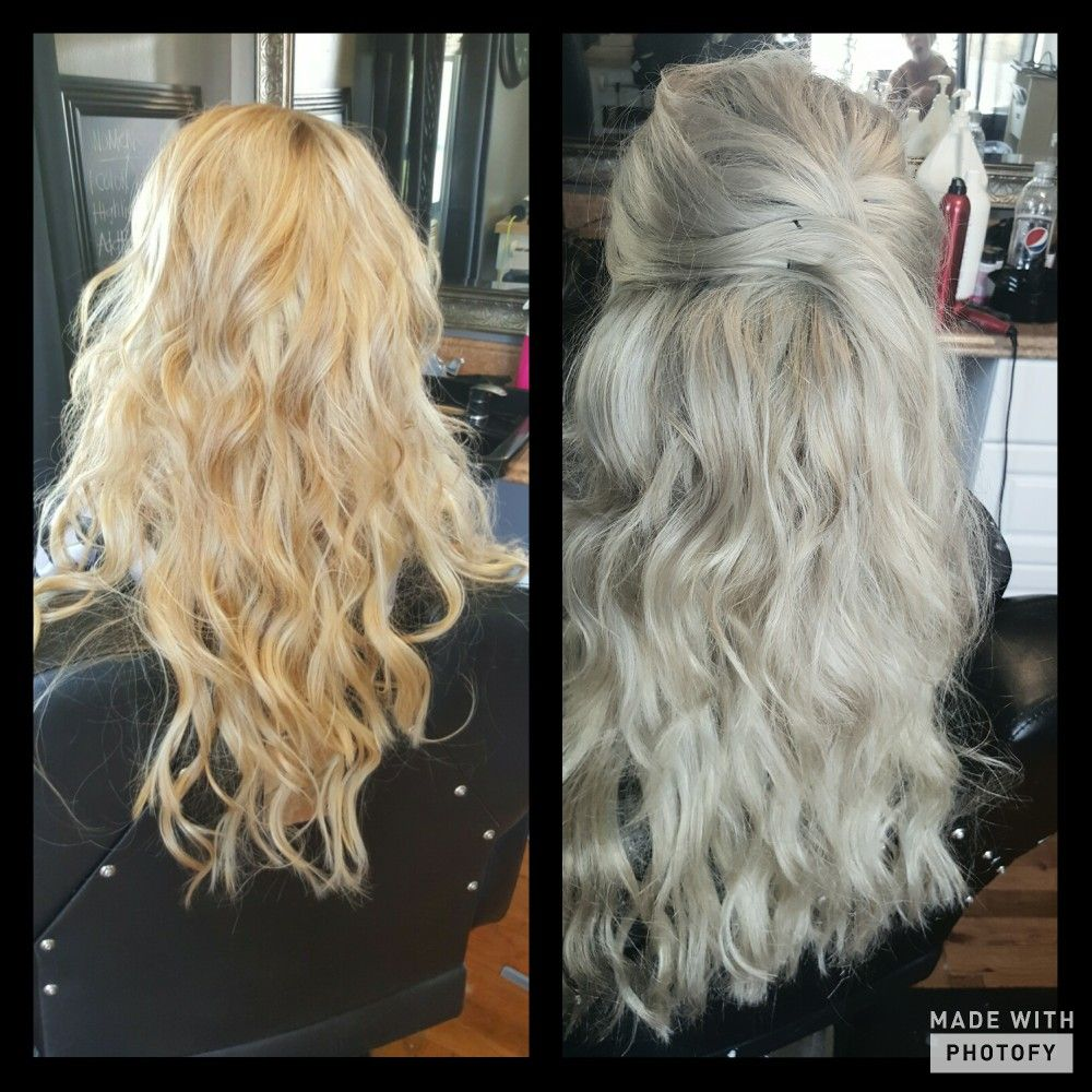 Golden Blonde Hair Extensions Silvery Blonde Hair Colors