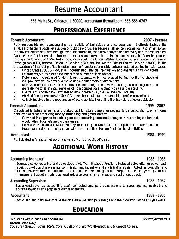 Fbi Resume Federal Resume Builder Resume Badak, Fbi Special Agent