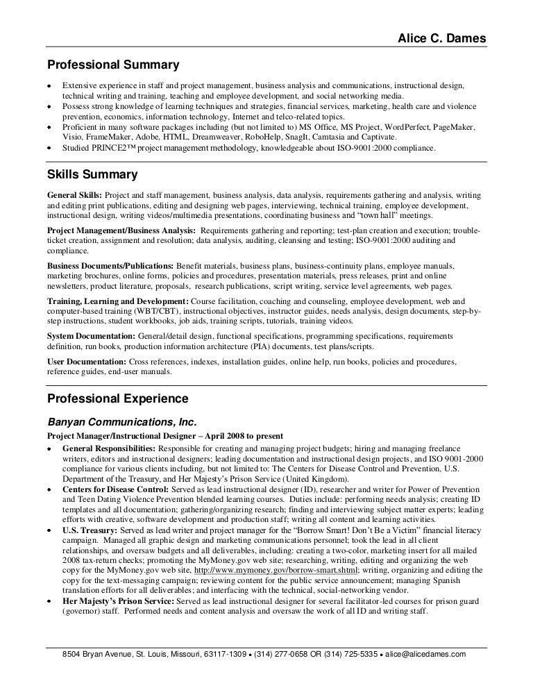 Resume Examples Summary Of Qualifications Resume Sample Hair