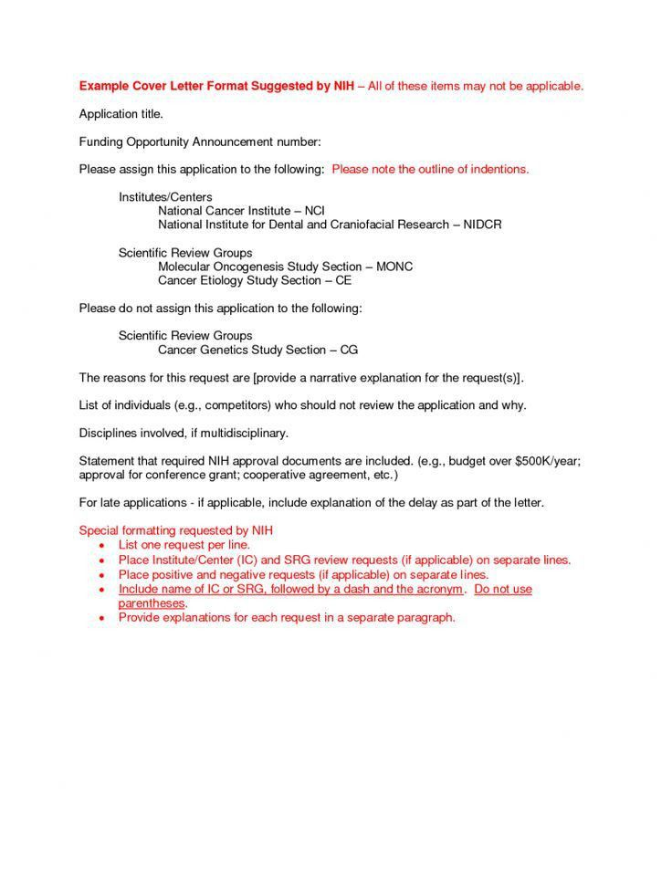 Cg supervisor cover letter