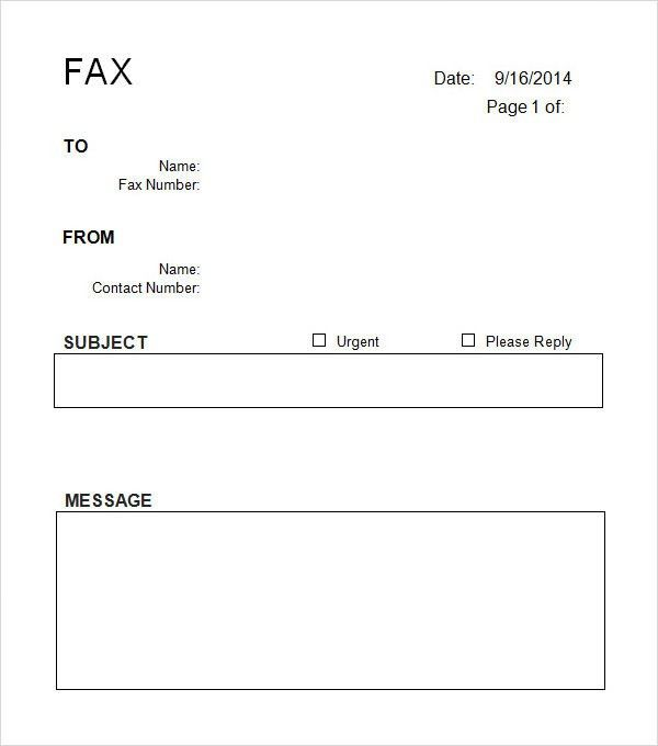 Sample Office Fax Cover Sheet Fax Cover Sheet Pdf Big Fax - sample office fax cover sheet