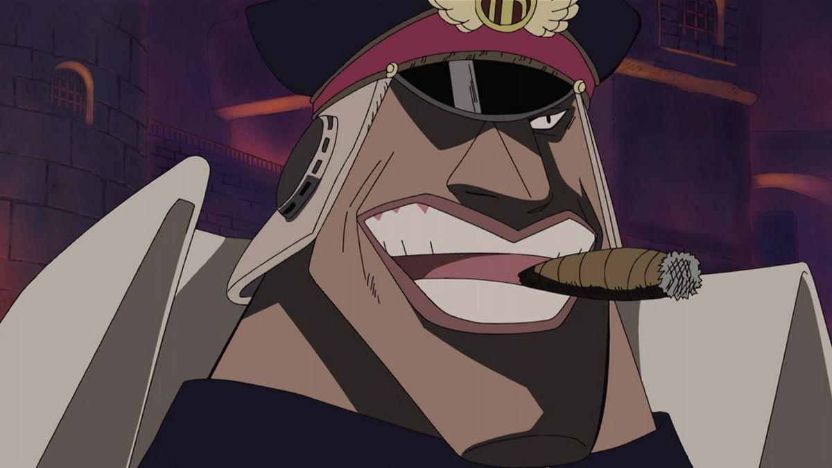Shiryu, angkatan laut yang menjadi bajak laut
