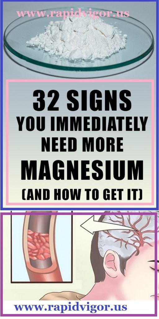 32 Signs You Immediately Need More Magnesium (and How to Get It)
