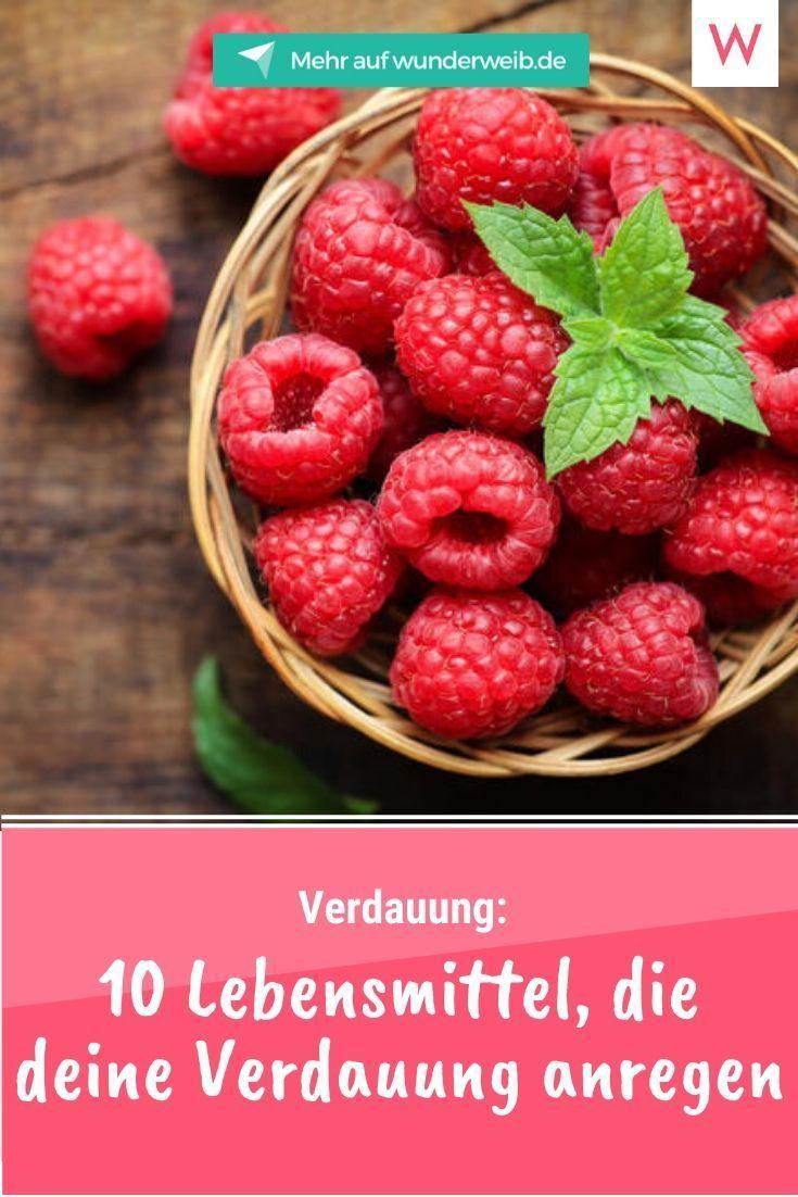 10 Lebensmittel, die deine Verdauung anregen | Wunderweib