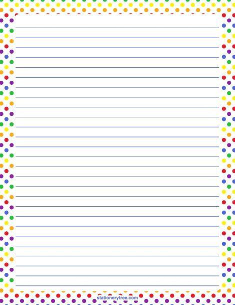 Free Lined Printable Paper Lined Paper Template Free Premium - free printable lined stationary