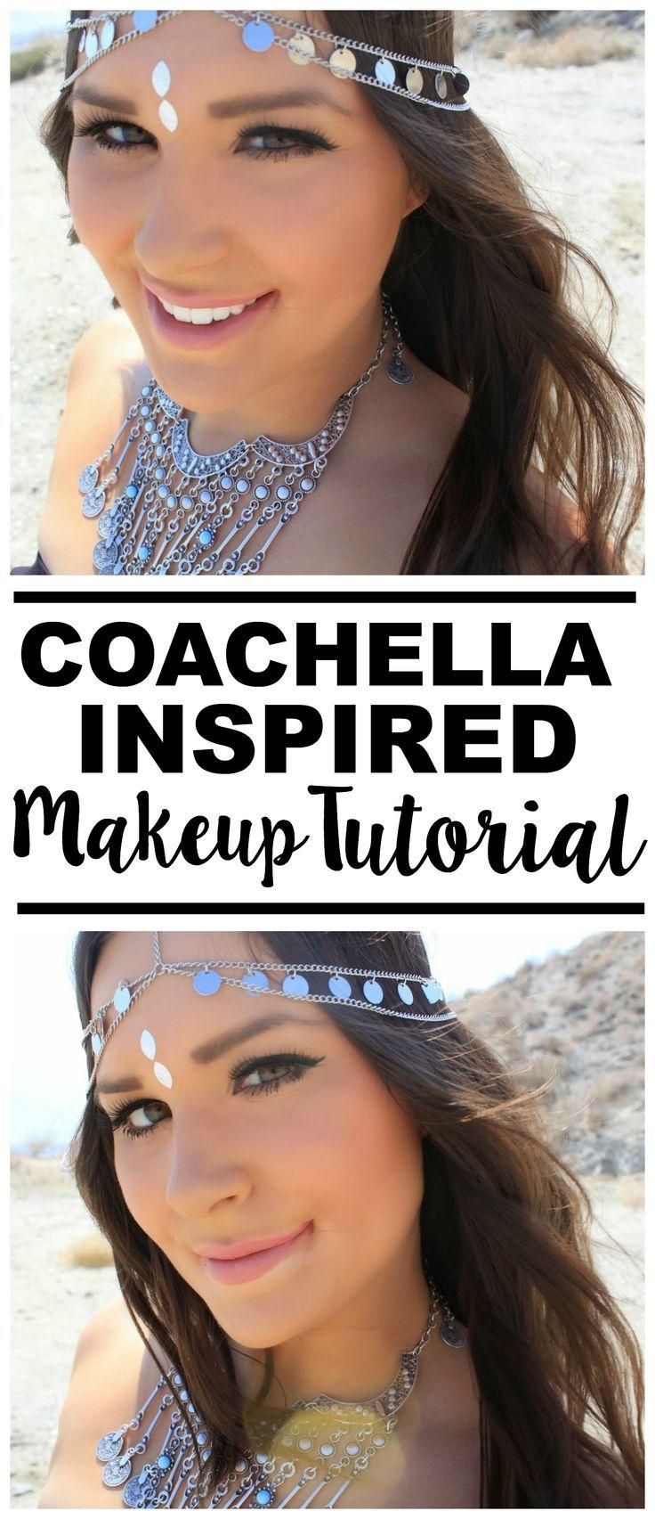 Coachella Inspired Drugstore Makeup Tutorial!